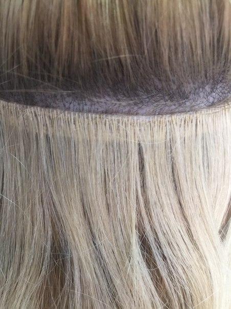 Королевское наращивание волос технология